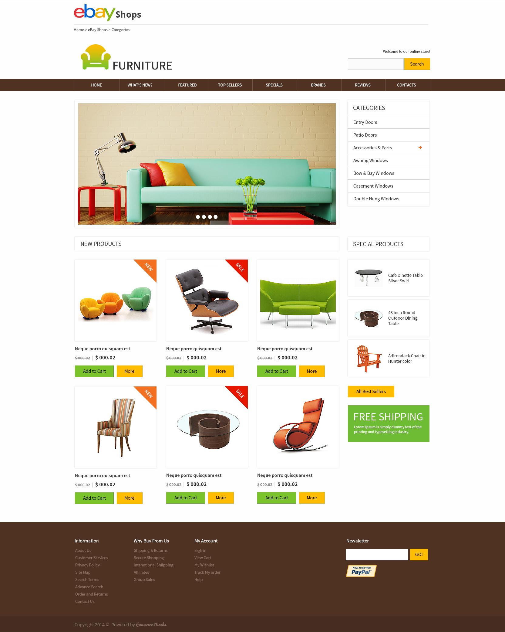eBay Template Design Service - CommerceMonks
